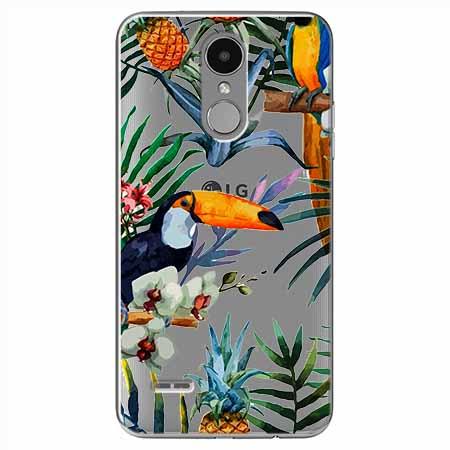 Etui na LG K8 2017 - Egzotyczne tukany.