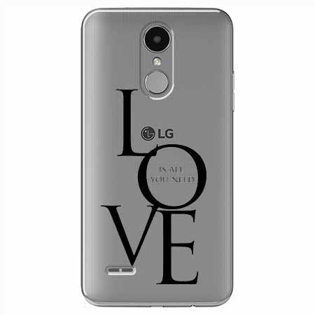 Etui na LG K8 2017 - All you need is LOVE.