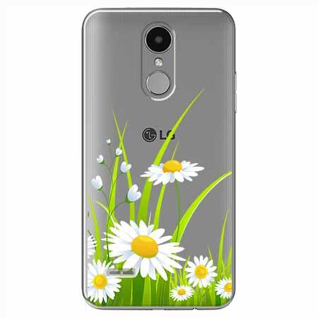 Etui na LG K4 2017 - Polne stokrotki.