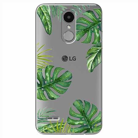 Etui na LG K4 2017 - Egzotyczna roślina Monstera