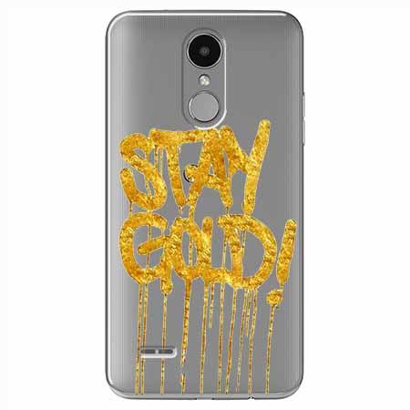 Etui na LG K4 2017 - Stay Gold.