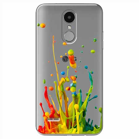 Etui na LG K4 2017 - Kolorowy splash.