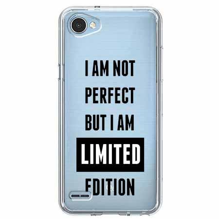 Etui na LG Q6 - I Am not perfect…
