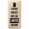 Etui na Samsung Galaxy A6 2018 - I Am not perfect…