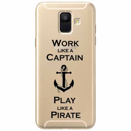 Etui na Samsung Galaxy A6 2018 - Work like a Captain…