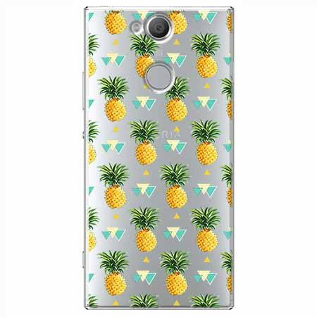 Etui na Sony Xperia XA2 - Ananasowe szaleństwo.