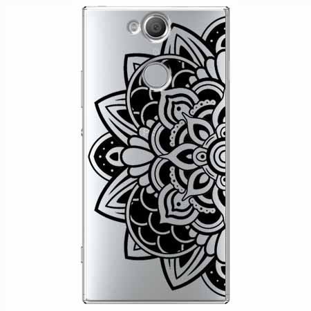Etui na Sony Xperia XA2 - Kwiatowa mandala.