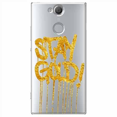 Etui na Sony Xperia XA2 - Stay Gold.