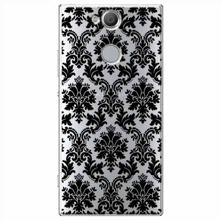 Etui na Sony Xperia XA2 - Damaszkowa elegancja.