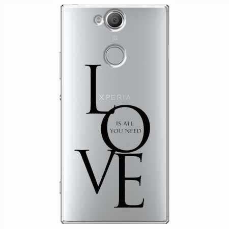 Etui na Sony Xperia XA2 - All you need is LOVE.