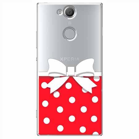 Etui na Sony Xperia XA2 - Gustowna kokardka.