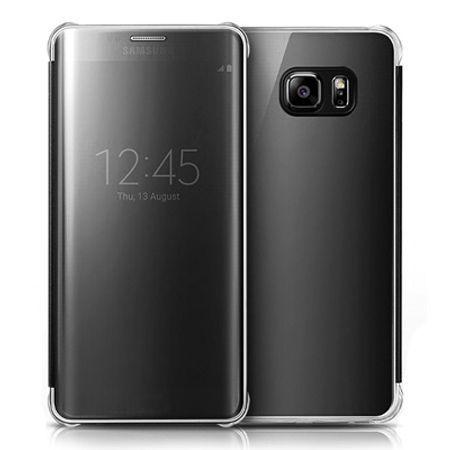 Etui na Samsung Galaxy S6 - Flip Clear View z klapką - Czarny.