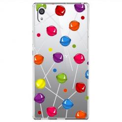 Etui na Sony Xperia L1 - Kolorowe lizaki.