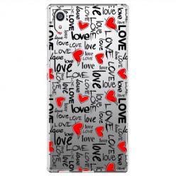 Etui na Sony Xperia L1 - Love, love, love…