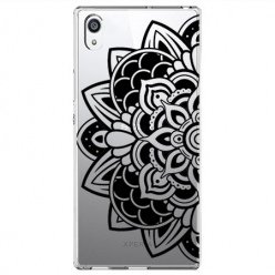 Etui na Sony Xperia L1 - Kwiatowa mandala.