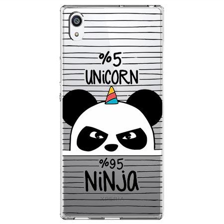 Etui na Sony Xperia L1 - Ninja Unicorn - Jednorożec.