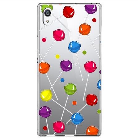 Etui na Sony Xperia XA1 Ultra - Kolorowe lizaki.