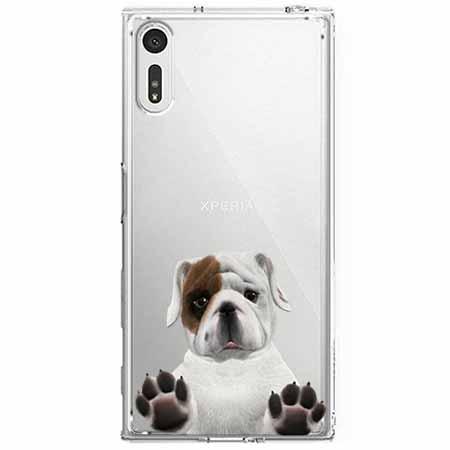 Etui na Sony Xperia XZ - Słodki szczeniaczek.