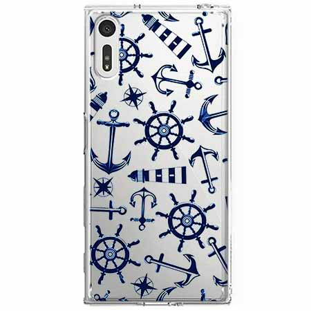 Etui na Sony Xperia XZ - Ahoj wilki morskie.