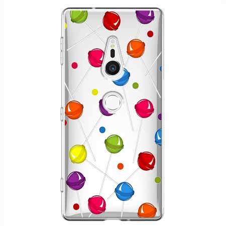 Etui na Sony Xperia XZ2 - Kolorowe lizaki.