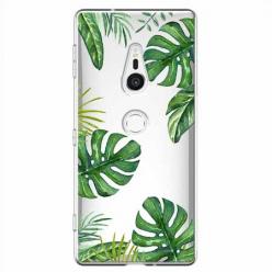 Etui na Sony Xperia XZ2 - Egzotyczna roślina Monstera
