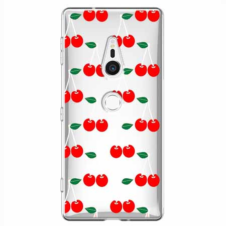 Etui na Sony Xperia XZ2 - Wiśniowa plejada.