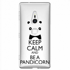 Etui na Sony Xperia XZ2 - Keep Calm… Pandicorn.