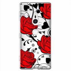 Etui na Sony Xperia XZ2 - Czerwone róże.