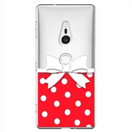 Etui na Sony Xperia XZ2 - Gustowna kokardka.