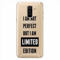 Etui na Samsung Galaxy A6 Plus 2018 - I Am not perfect…