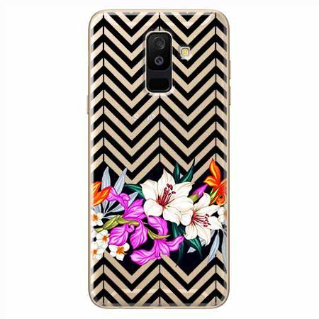 Etui na Samsung Galaxy A6 Plus 2018 - Kwiatowy bukiet dla Ciebie.