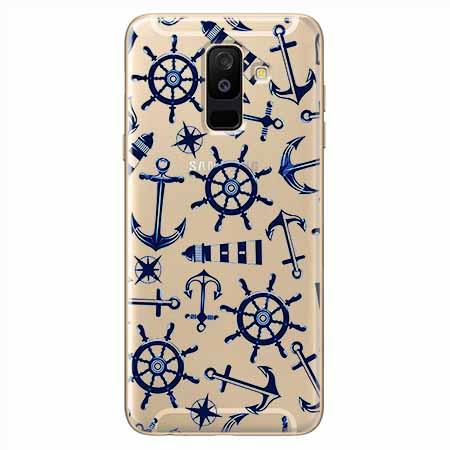 Etui na Samsung Galaxy A6 Plus 2018 - Ahoj wilki morskie.