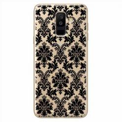 Etui na Samsung Galaxy A6 Plus 2018 - Damaszkowa elegancja.