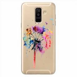 Etui na Samsung Galaxy A6 Plus 2018 - Watercolor dmuchawiec.