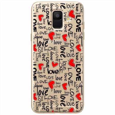 Etui na Samsung Galaxy A8 2018 - Love, love, love…