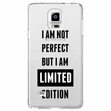 Etui na Samsung Galaxy Note 4 - I Am not perfect…