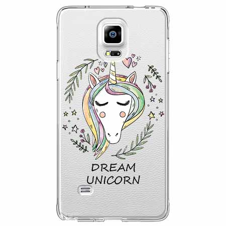 Etui na Samsung Galaxy Note 4 - Dream unicorn - Jednorożec.