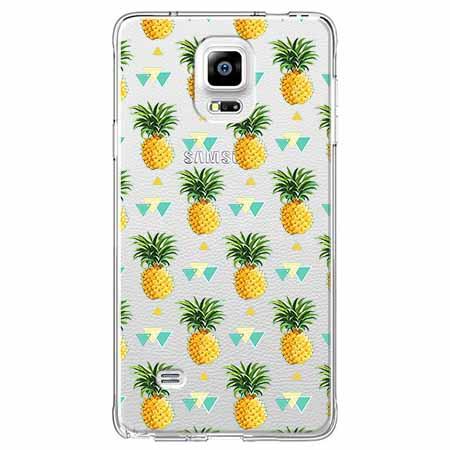Etui na Samsung Galaxy Note 4 - Ananasowe szaleństwo.