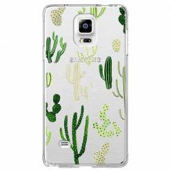 Etui na Samsung Galaxy Note 4 - Kaktusowy ogród.