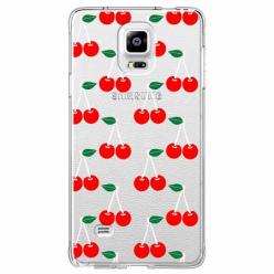 Etui na Samsung Galaxy Note 4 - Wiśniowa plejada.
