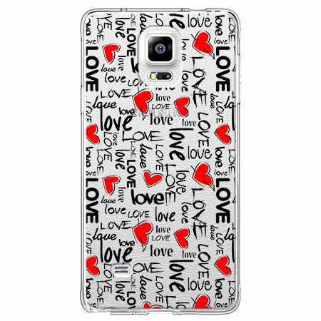 Etui na Samsung Galaxy Note 4 - Love, love, love…