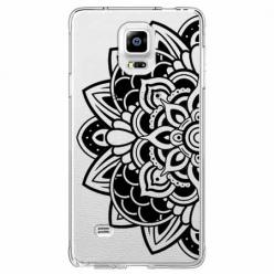 Etui na Samsung Galaxy Note 4 - Kwiatowa mandala.