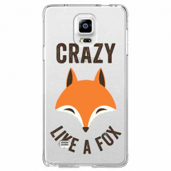 Etui na Samsung Galaxy Note 4 - Crazy like a fox.