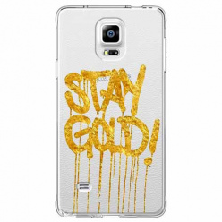 Etui na Samsung Galaxy Note 4 - Stay Gold.