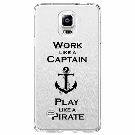 Etui na Samsung Galaxy Note 4 - Work like a Captain…