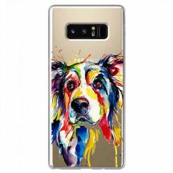 Etui na Samsung Galaxy Note 8 - Watercolor pies.