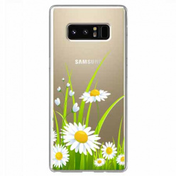 Etui na Samsung Galaxy Note 8 - Polne stokrotki.