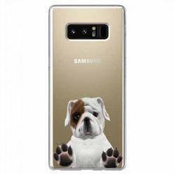 Etui na Samsung Galaxy Note 8 - Słodki szczeniaczek.