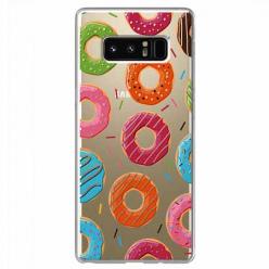 Etui na Samsung Galaxy Note 8 - Lukrowane pączki.