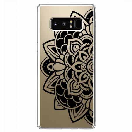 Etui na Samsung Galaxy Note 8 - Kwiatowa mandala.